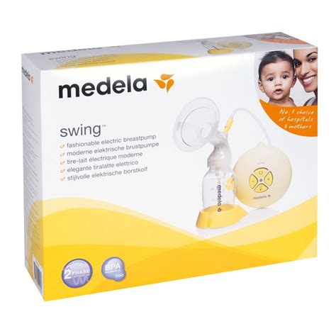 medela single swing electric breast pump medela swing electric breast pump 2 phase expression