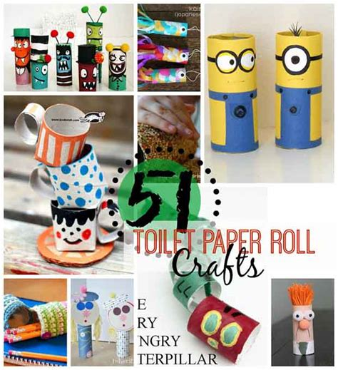 What Can You Make Out Of A Toilet Paper Roll - 51 toilet paper roll crafts lil moo creations