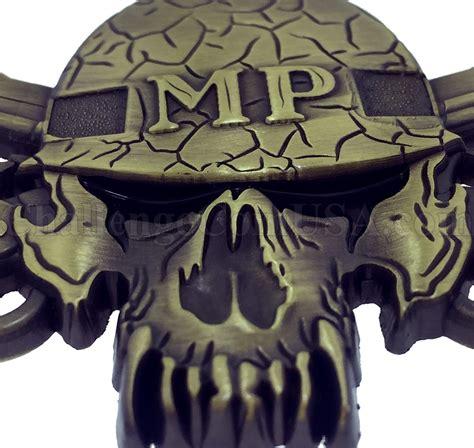 mp skoll challengecoinusa mp skull challenge coin military police