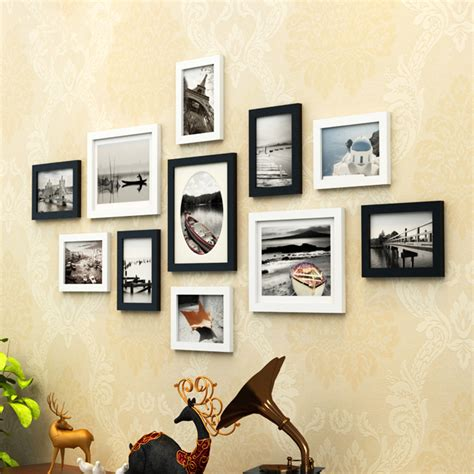 wall collage frames 2016 multi frame wood baby picture aliexpress com buy european style 11 pcs set photo frame