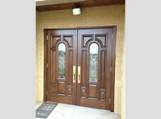 Hand Crafted Mahogany Church Doors by Albert Ironwood ... Industrial Style Home Decor