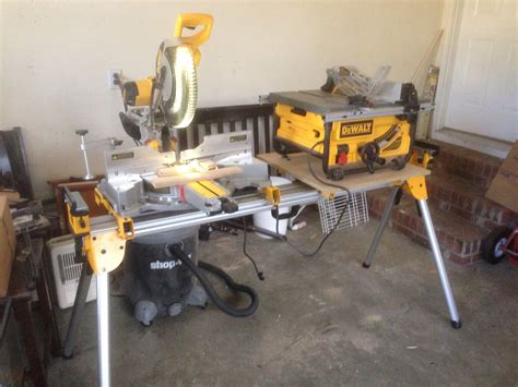 dewalt miter   table    stand