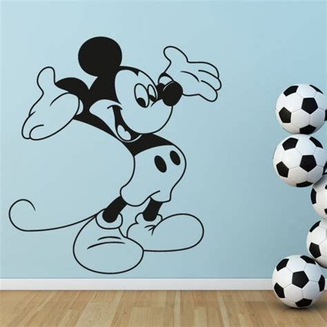 mickey mouse wall stickers uk mickey mouse disney wall sticker from wall chimp uk
