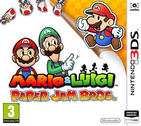 Kaset 3ds Mario Luigi Paper Jam mario luigi paper jam bros nintendo 3ds juegos nintendo