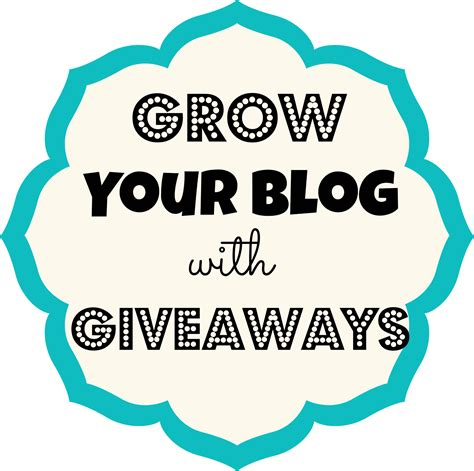 Blog Giveaway - how to grow your blog with giveaways