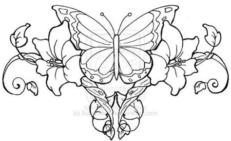beautiful lower back tattoo designs drawings of hearts butterfly lowerback 25