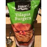 Backyard Burger Tilapia Nutrition Trident Seafoods Tilapia Burgers Calories Nutrition