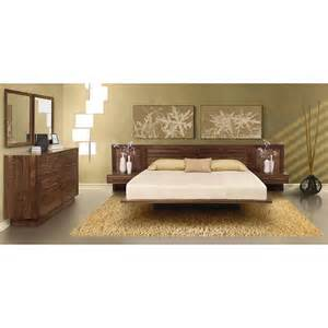 Platform Beds With Headboard Copeland Moduluxe Low Profile Platform Bed Louvered Headboard Sectionals