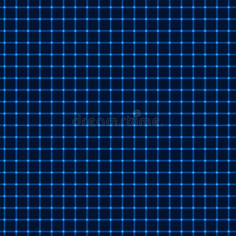 grid pattern light neon blue grid stock vector image of illustration shine