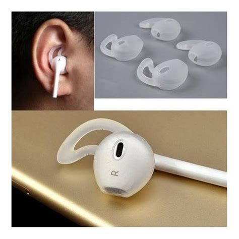 Iphone Earpods Aliexpress Buy Silicone Sport Tips 2 Pairs For The Apple Earpods And Earbuds Compatible