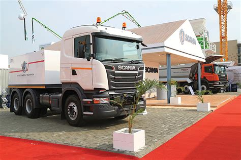 scania launches r 580 v8 india s most powerful truck
