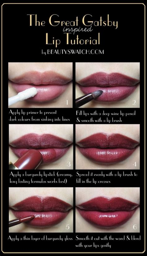 tutorial makeup lipstick how to apply lipstick step by step tutorial