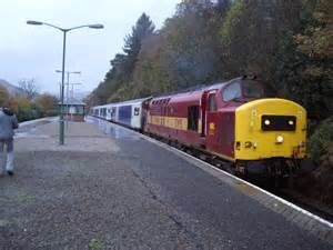 Fort William Sleeper to fort william sleeper at 169 andrew abbott geograph britain and ireland