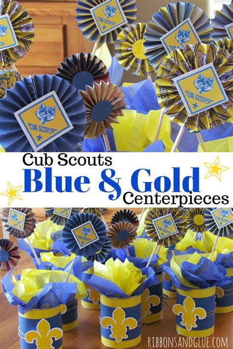 blue and gold banquet centerpiece ideas cub scouts blue and gold banquet centerpieces