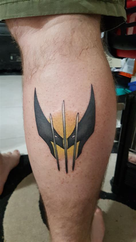 wolverine tattoos my new wolverine done by craig at tora sumi
