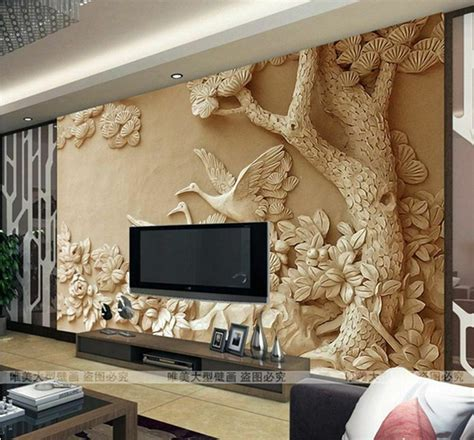 wallpaper bedroom mural roll modern luxury embossed background bj ebay