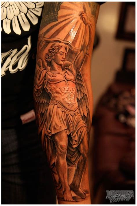 saint michael tattoos tattoo collections