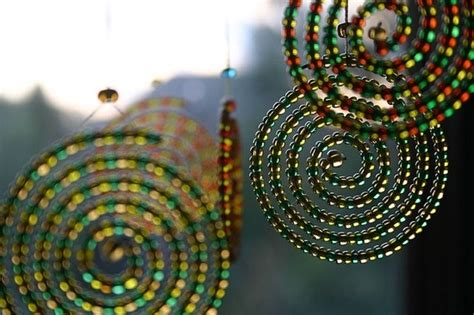 garden craft ideas garden craft ideas bead mobile by