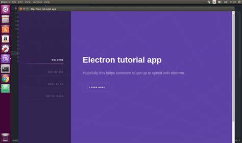javascript tutorial ubuntu electron app icons christian engvall