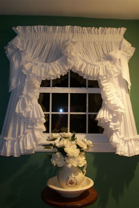 carolina ruffled curtains country ruffled curtains stuff i like pinterest