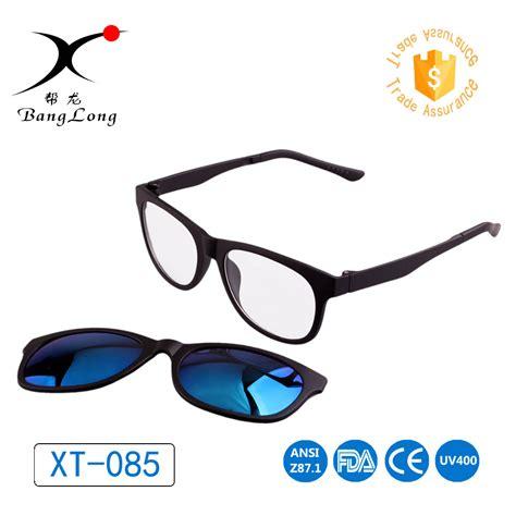 custom magnetic split reading glasses frame magnet from