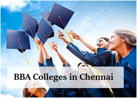 Best Mba Colleges In Chennai by Top Bba Colleges In Chennai