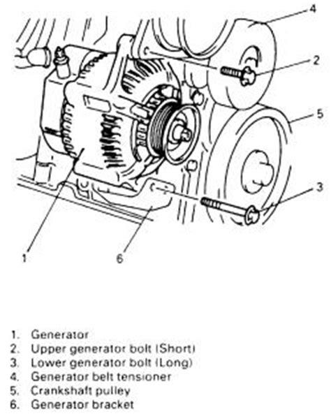 small engine repair training 1998 suzuki sidekick on board diagnostic system repair guides charging system alternator autozone com