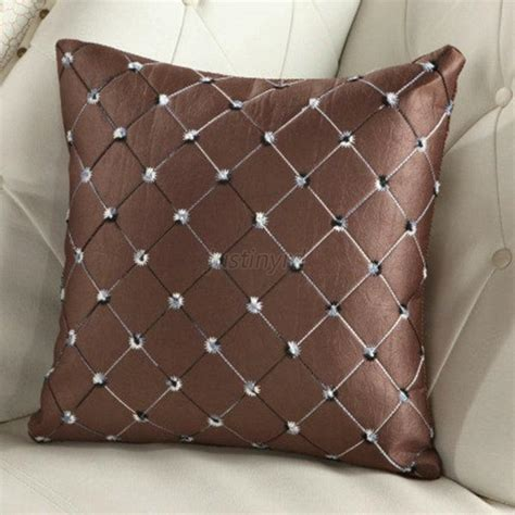 elegant sofa throws elegant plaid throw pillow case home bed sofa decorative