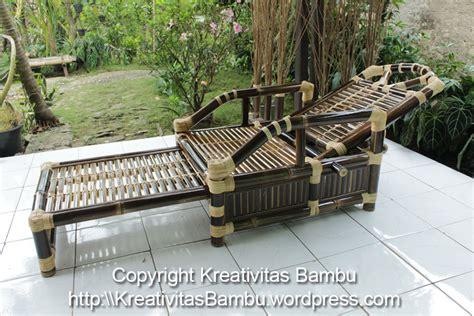 Kursi Santai Dari Bambu kursi santai kreativitas bambu