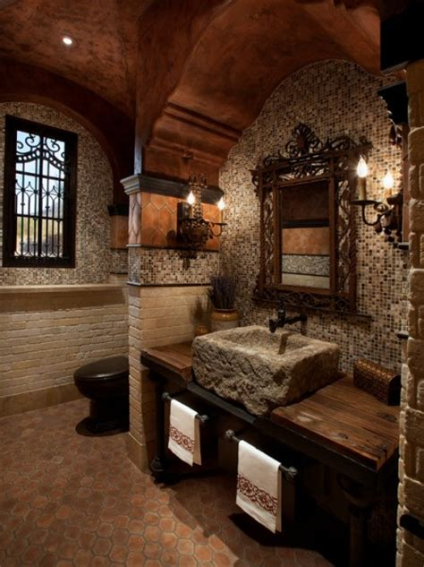 castle home decor medieval bathroom beautiful homes design