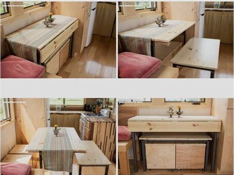 tiny home dining table 25 best ideas about tiny house furniture on pinterest