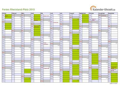 Kalender 2018 Zum Ausdrucken Mit Ferien Rlp Ferien Rheinland Pfalz 2015 Ferienkalender Zum Ausdrucken