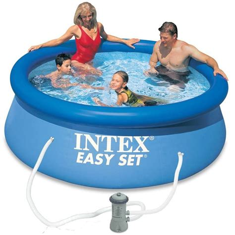 decathlon piscine gonflable 6028 intex easy medence 244x76 cm decathlon
