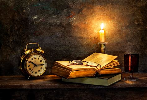 books wallpaper candle light still life books wallpapers