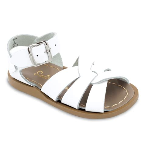 water sandals the original salt water sandal in white shop classic
