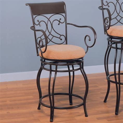 24 Dining Chairs Coaster Dining Chairs And Bar Stools 120020 24 Quot Metal Bar Stool With Upholstered Seat Sol