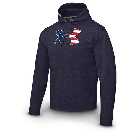 under armoir sweatshirts under armour 174 fleece stars stripes hoodie 172898