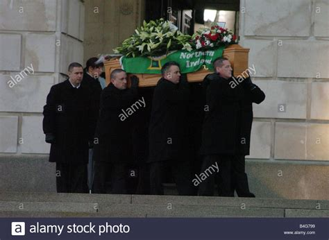 george best funeral which was held at stormont castle in