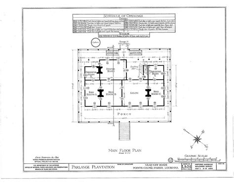 plantation house floor plans evergreen plantation floor plan parlange plantation floor