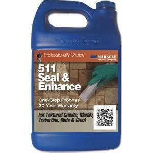 miracle sealants 16 oz seal and enhance 1 step