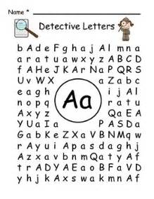 detective letters word search alphabet and detective