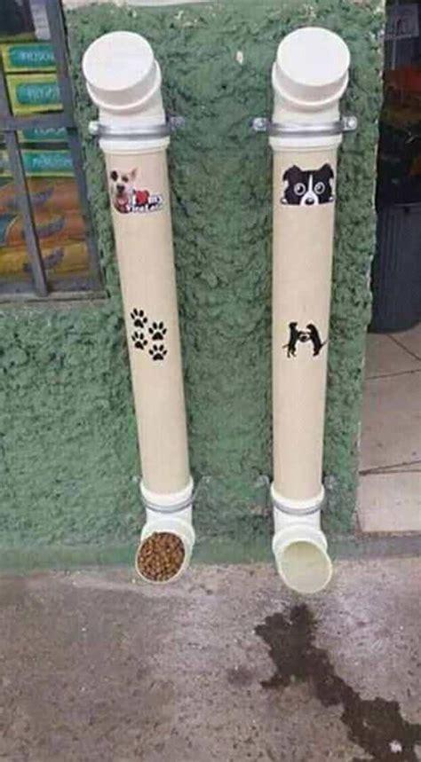 alimentadores automaticos para perros genial idea para hacer un comedero autom 225 tico para perros