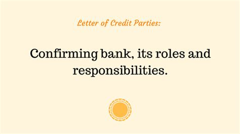 Letter Of Credit Advising Bank Confirming Bank advancedontrade export import customs 2017