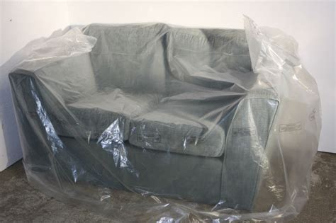 plastic covered sofa big and excellent plastic furniture cover bags buy