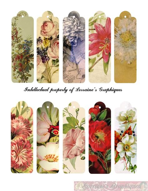 printable bookmarks vintage 76 best images about printable bookmarks on pinterest
