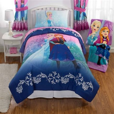 Disney S Frozen Nordic Frost Bed In Bag Bedding Set Toddler Frozen Bed Set