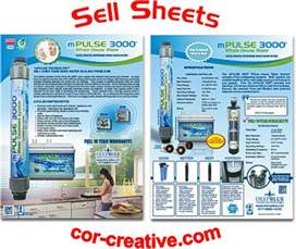 Product Sell Sheet Design by Product Sell Sheets And Flyers Cor Creative Com