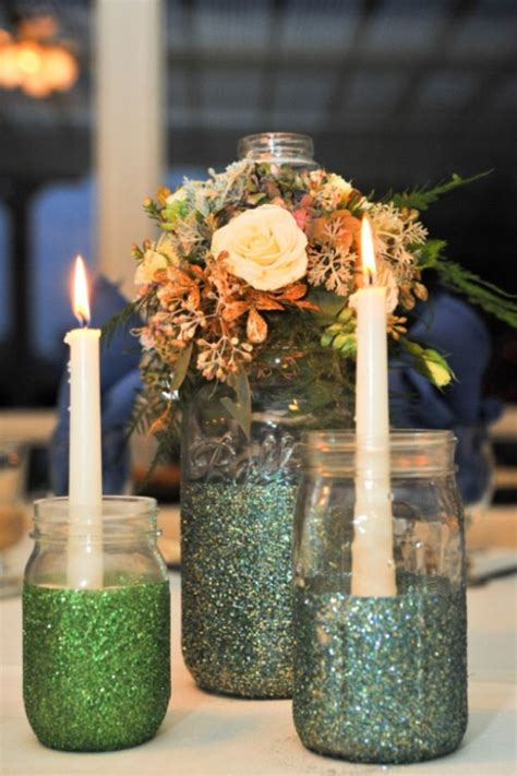 wedding table decoration ideas with jars find inspiration in nature for your wedding centerpieces