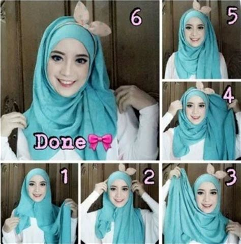 tutorial hijab segitiga simple tanpa ciput ninja tutorial hijab segi empat simple tanpa ciput mudah dan