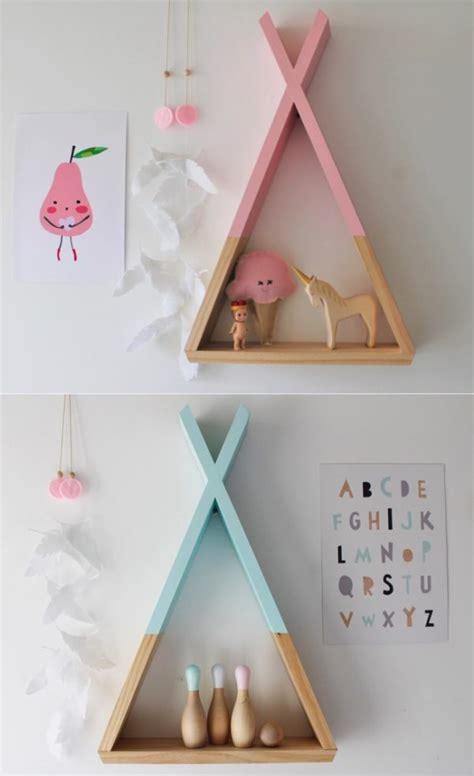 modern wall shelves for kids handmade charlotte 31 unique wall shelves that make storage look beautiful